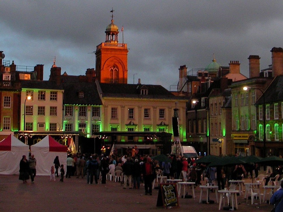 Northampton Market Square Lights 9