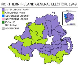Northern Ireland general election, 1949 - Image: Northern Ireland general election 1949