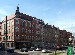 Ruda Śląska - Niedurnego Street in Ruda Śląska