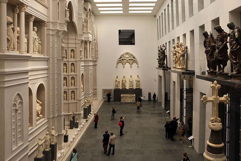 File:Nuovo museo dell'opera del duomo, sala del facciatone e delle porte del battistero 04.JPG