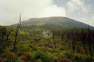Der Nyiragongo im März 2004
