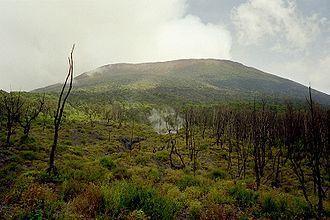 Virunga Mountains - Mount Nyiragongo
