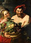 Nymph and Satyr after Peter Paul Rubens Mauritshuis 246.jpg