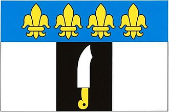 Ošelín - Image: Ošelín flag