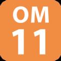 OM-11 station number.png