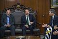 O presidente do Botafogo, Maurício Assumpção, Renan Calheiros, e o senador Jorge Viana.jpg