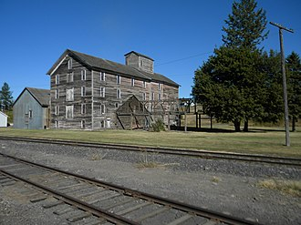 National Register of Historic Places listings in Whitman County, Washington - Image: Oakesdale Flour Mill