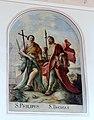 Oberzell Alte Kirche Apostel Philipus Thomas.jpg