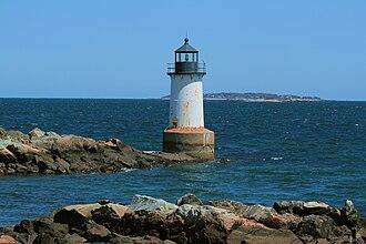 Fort Pickering Light - Image: Ocean Lighthouse Salem Massachusetts