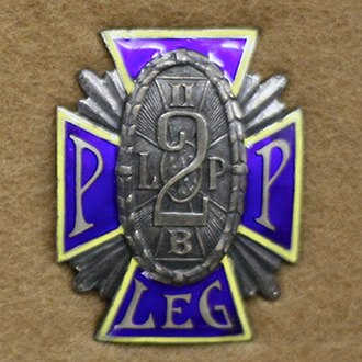 2nd Legions' Infantry Regiment - Image: Odznaka 2pp
