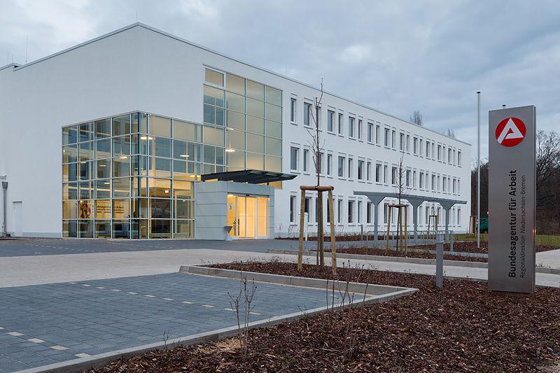 Datei:Office building Bundesagentur fuer Arbeit Roepkestrasse 3 Bult Hannover Germany.jpg
