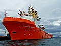 Offshore oil service vessel - geograph.org.uk - 1243877.jpg