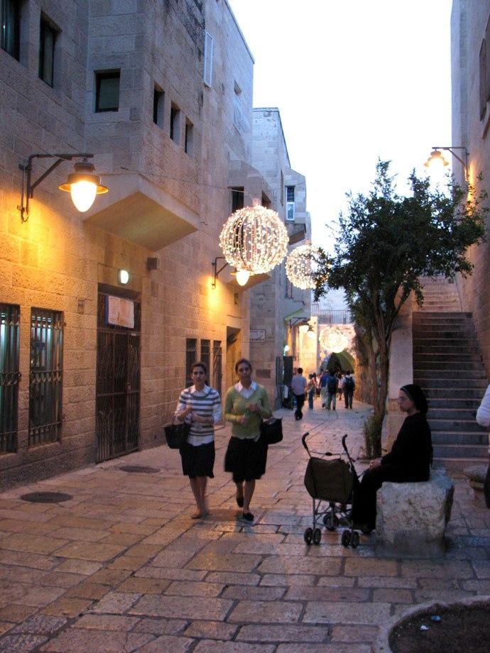 Old Jerusalem, Jewish Quarter, Tiferet Israel street