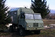 Old TAM 110 military truck