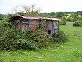 Old railway goods van - geograph.org.uk - 585967.jpg