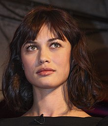Description de l'image  Olga Kurylenko by Mikolaj Kirschke Wikipedia cropped.JPG.