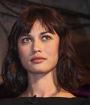 English: Olga Kurylenko during the new Ford Ka...