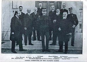1906 Intercalated Games - The Organizing Committee of the 1906 Games