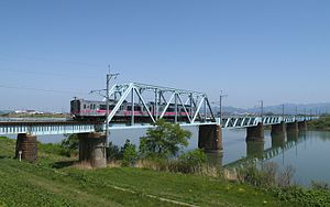 Omono River - Omonogawa Bridge