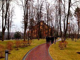 On the way to Honka in Mezhyhirya.jpg