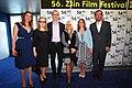 Ondřej Beránek s delegací filmu Baron Prášil při světové premiéře na MFF Zlín 2016.jpg