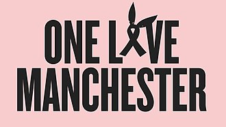 One Love Manchester - Image: One Love Manchester Logo 2