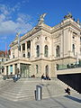Opernhaus Zürich - Sechseläutenplatz 2014-05-14 18-52-32 (P7800).JPG
