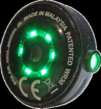 Electro-optical sensor - Optical heart-rate sensor