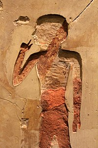 Oriental Institute Museum. The art and craft of nose picking (5949090582).jpg