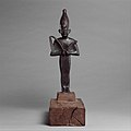 Osiris offered by the Astronomer of the House of Amun, Ibeb MET DP139125.jpg
