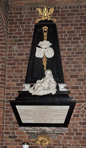 Benedictus Buns - The tomb of Count Oswald van Bergh in the Basilica of Boxmeer.