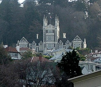 Otago Boys' High School - The school's buildings can be seen from much of central Dunedin.