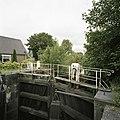 Overzicht van de houten puntdeuren van de schutsluis - Gouda - 20387983 - RCE.jpg