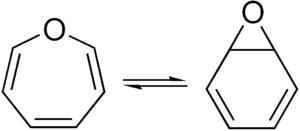 Tautomer - Oxepin – benzene oxide equilibrium