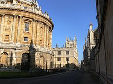 Oxford - Bodleian Library and Radcliffe Camera.JPG