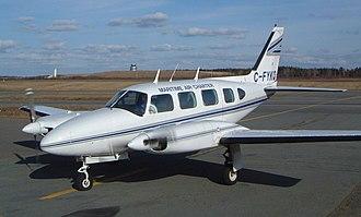 Maritime Air Charter - PA-31 Navajo