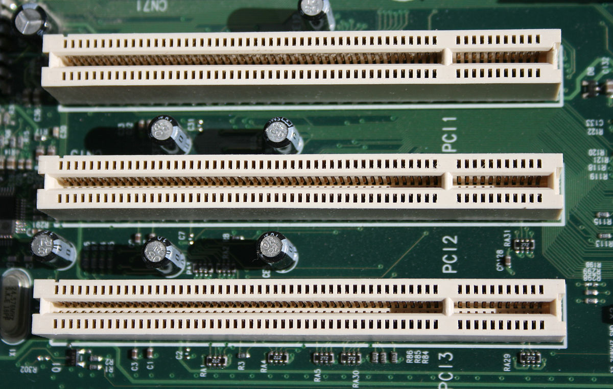 Conventional Pci Wikipedia After Inserting Wires To The Plug Place Into Proper Slot