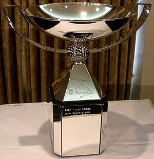 PGA Tour - The FedEx Cup, presented to the winner of the season-ending playoffs.