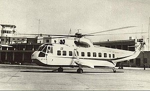 East Pakistan Helicopter Service - Image: PIA helicopter Dacca