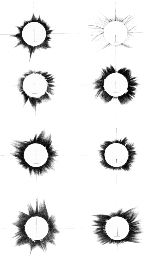 PSM V57 D016 Images of the corona of the may 29 1900 total eclipse part 1.png
