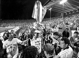 1988 European Cup Final association football match