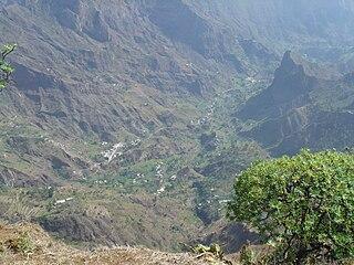 Cabo da Ribeira Settlement in Santo Antão, Cape Verde