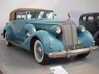 Packard Super Eight Motor vehicle