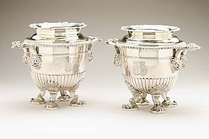Rundell and Bridge -  Pair of Wine Coolers, 1810-11, by Paul Storr