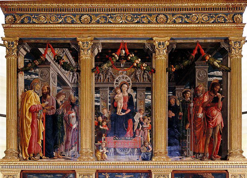 File:Pala di San Zeno by Andrea Mantegna - San Zeno - Verona 2016 (2).jpg