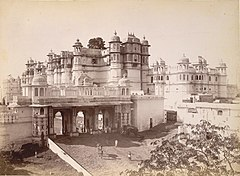 Palace and Triple Gate, -Udaipur-.jpg