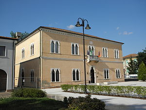 Ceregnano - The Town Hall