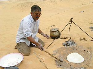 Western Saharan cuisine - Saharawi bread