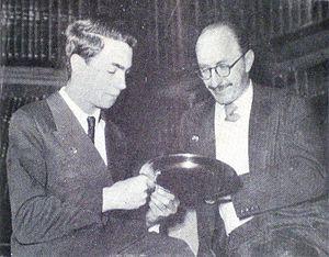 Julio Bolbochán - Oscar Panno and Julio Bolbochán.