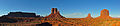 Panorama Wide Monument Valley - USA - Utah - Agosto 2011.jpg